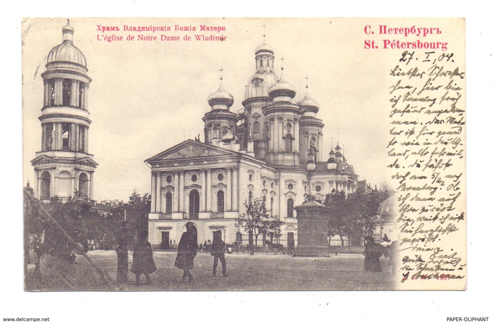 RU 190000 SANKT PETERSBURG, Le Eglise De Notre Dame De Wladimir, 1904, Russische Soldaten - Russland