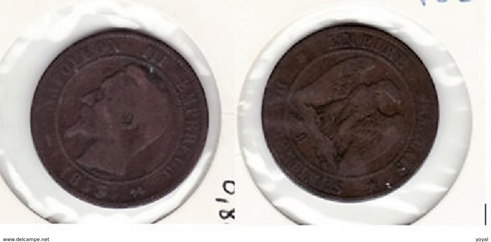 Napoleon III 10 Ctes 1853B  P82 - France