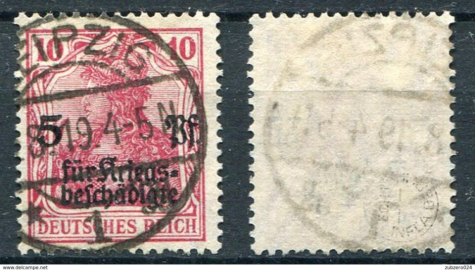 D. Reich Michel-Nr. 105 Vollstempel - Geprüft - Deutschland