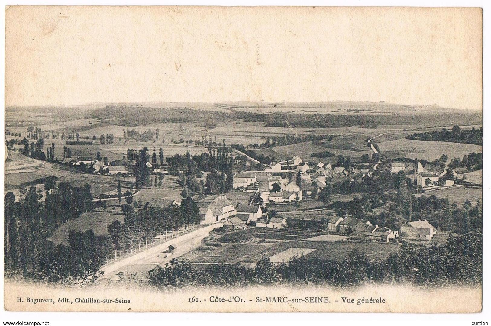 SAINT MARC Sur SEINE  21  Vue Générale .1905 - Autres Communes