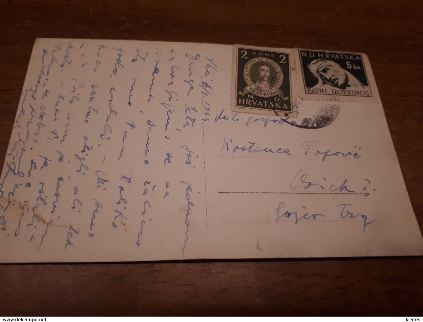 Postcard - Croatia, NDH, Vinkovci    (29779) - Croatia