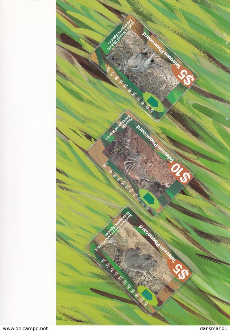 AUSTRALIA TELECOM Endangered Species Mint Pack - Otros – Oceanía