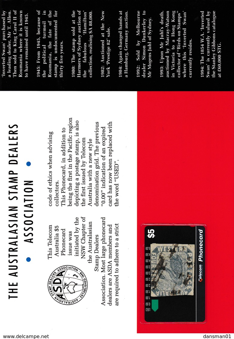 AUSTRALIA PACS Phonecard Mint Pack - Telefoonkaarten