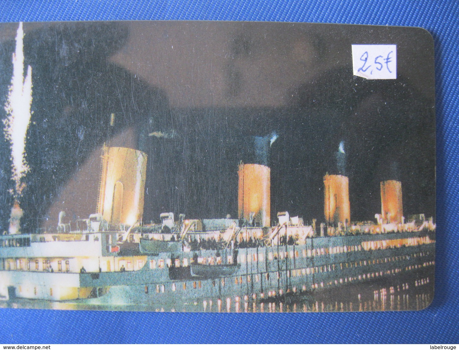 """Télécarte Amerique """"le Titanic"""" - Altri – America"""