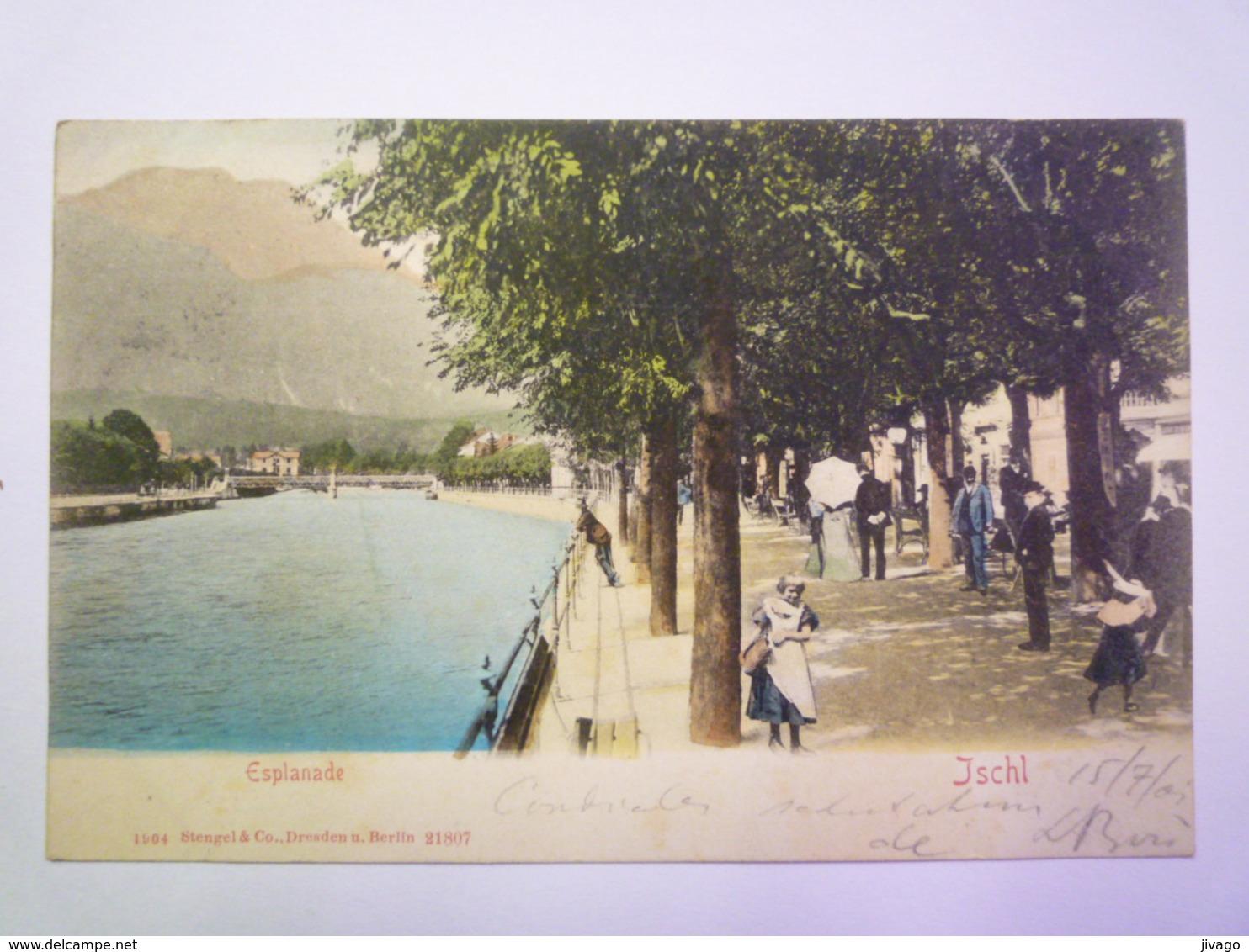 ISCHL  :  ESPLANADE   1902    - Autriche