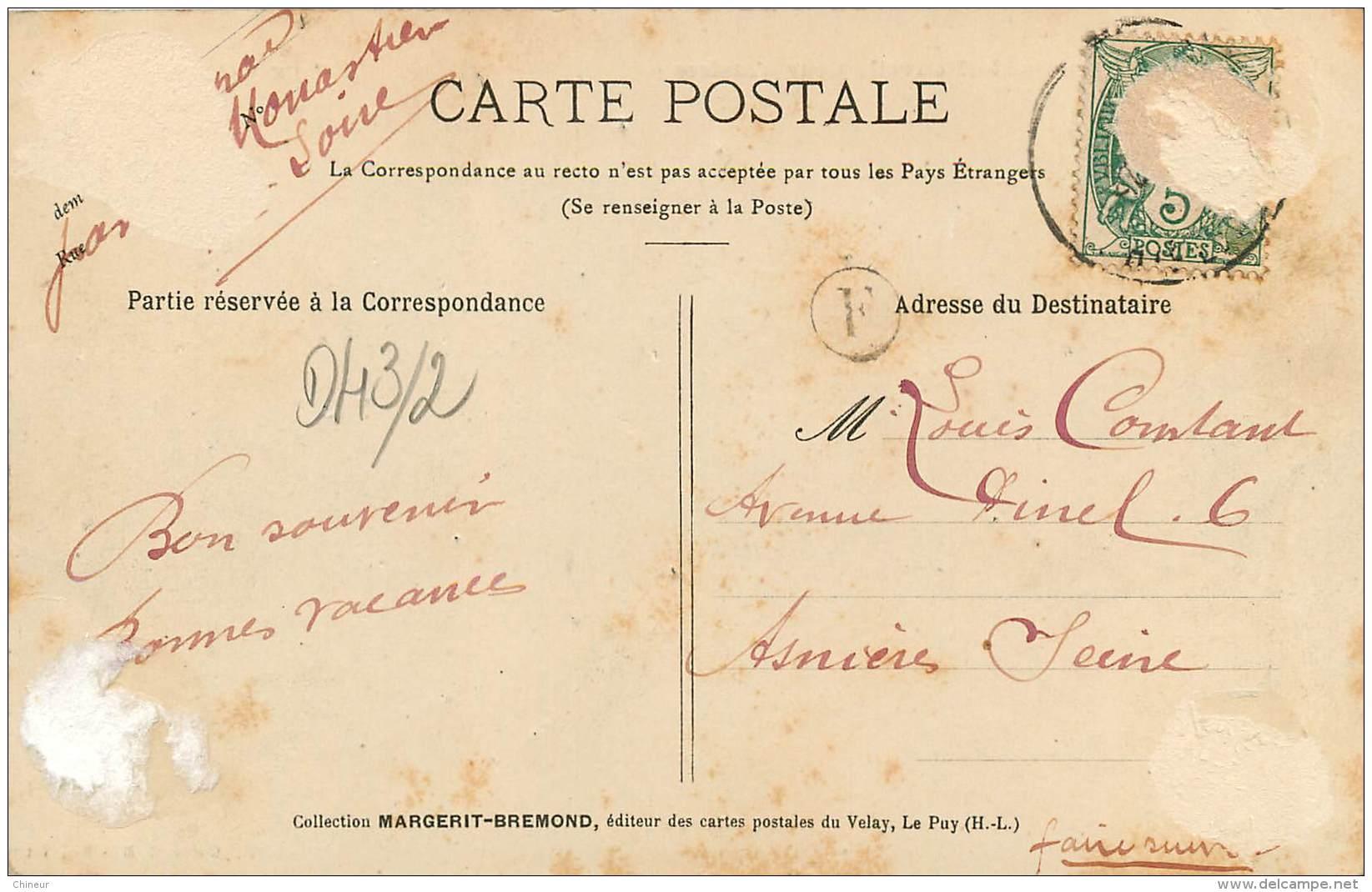 LE PUY LE TRIBUNAL ET LA NOUVELLE COUR D'ASSISES - Le Puy En Velay