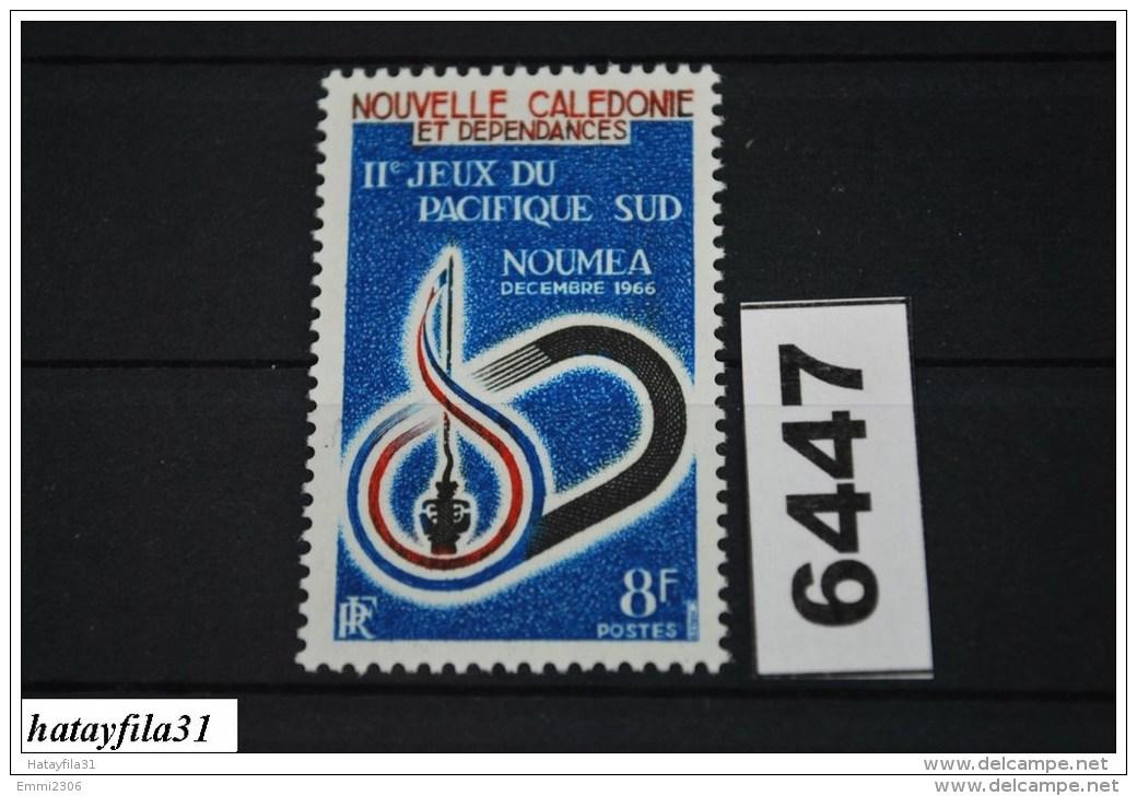 Neukaledonien    1966   Mi. 420   ** Postfrisch   /   2. Südpazifikspiele  , Neumea - Nouvelle-Calédonie