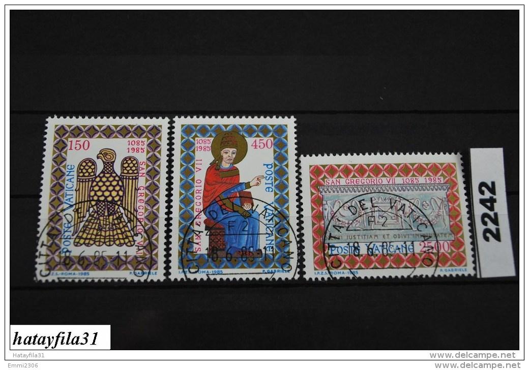 Vatikan   1985    Mi. 873 - 875    Gestempelt - Vatican