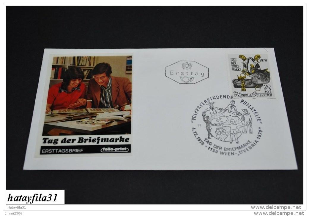 Österreich  1970    Ersttag    Brief    Mi. 1350  /   Tag Der Briefmarke    (T - 97 ) - FDC