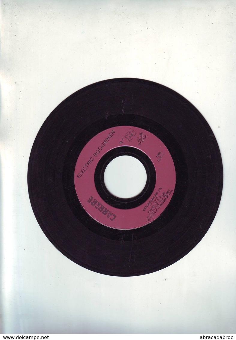 "45 Tours Sans Pochette - Electric Boogiemen "" Breakdancing "" - Disco, Pop"