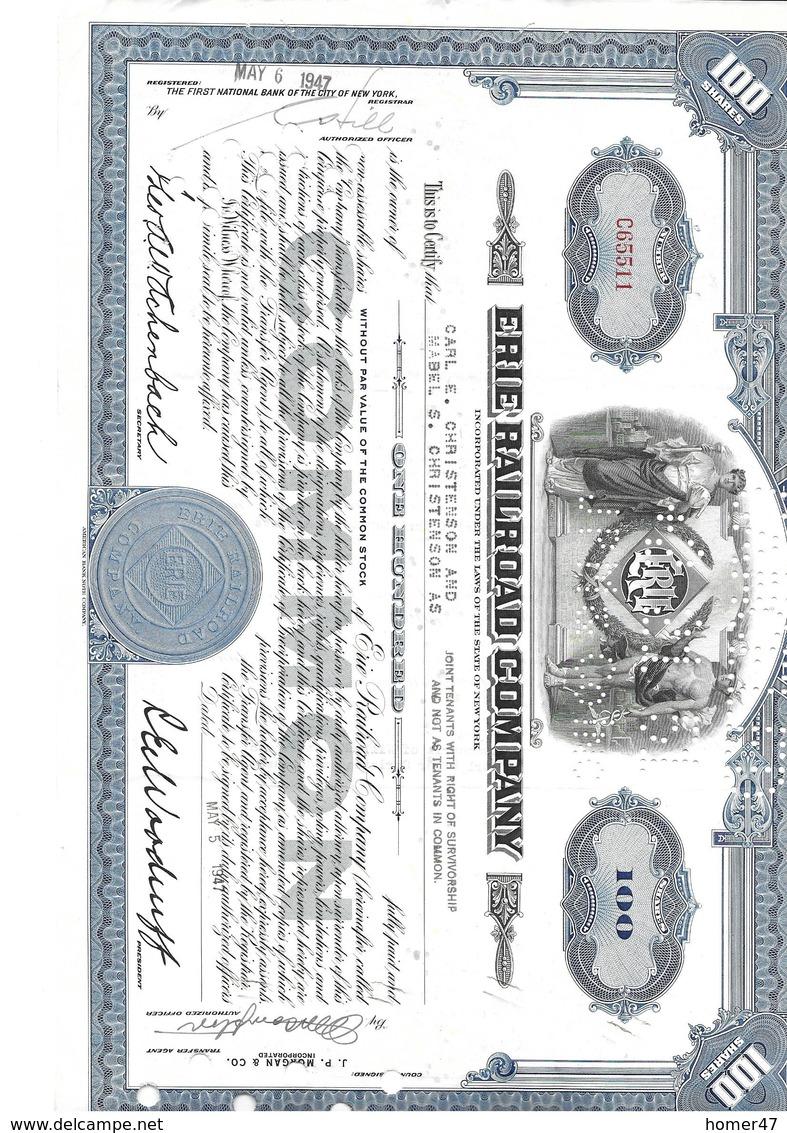 Lot American RR Companies - Chemin De Fer & Tramway