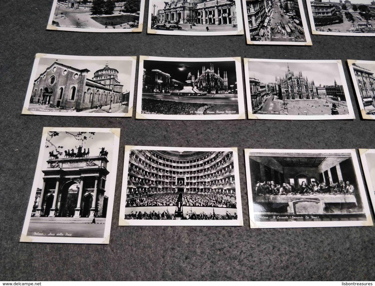 ANTIQUE LOT X 20 SMALL PHOTOS ITALY - MILANO - BY BROMOFOTO - Pellicole Cinematografiche: 35mm-16mm-9,5+8+S8mm