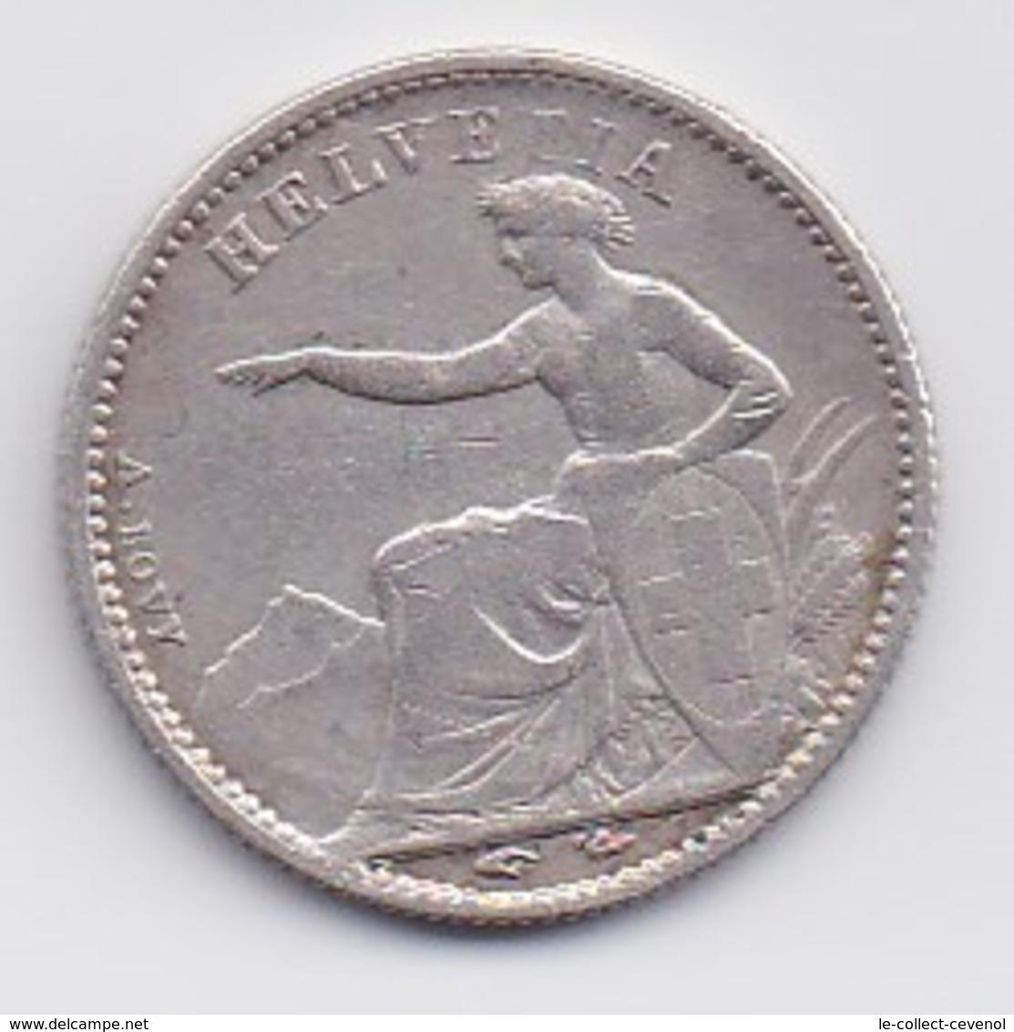 SUISSE - 1/2 Fr 1850 A - Switzerland