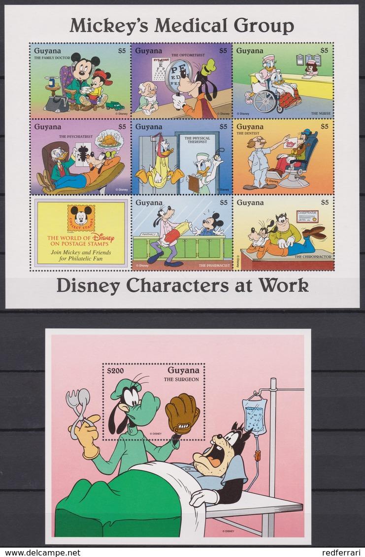 2321  WALT DISNEY - GUYANA ( DISNEY Characters At Work ) Micky's Medical Group. - Disney