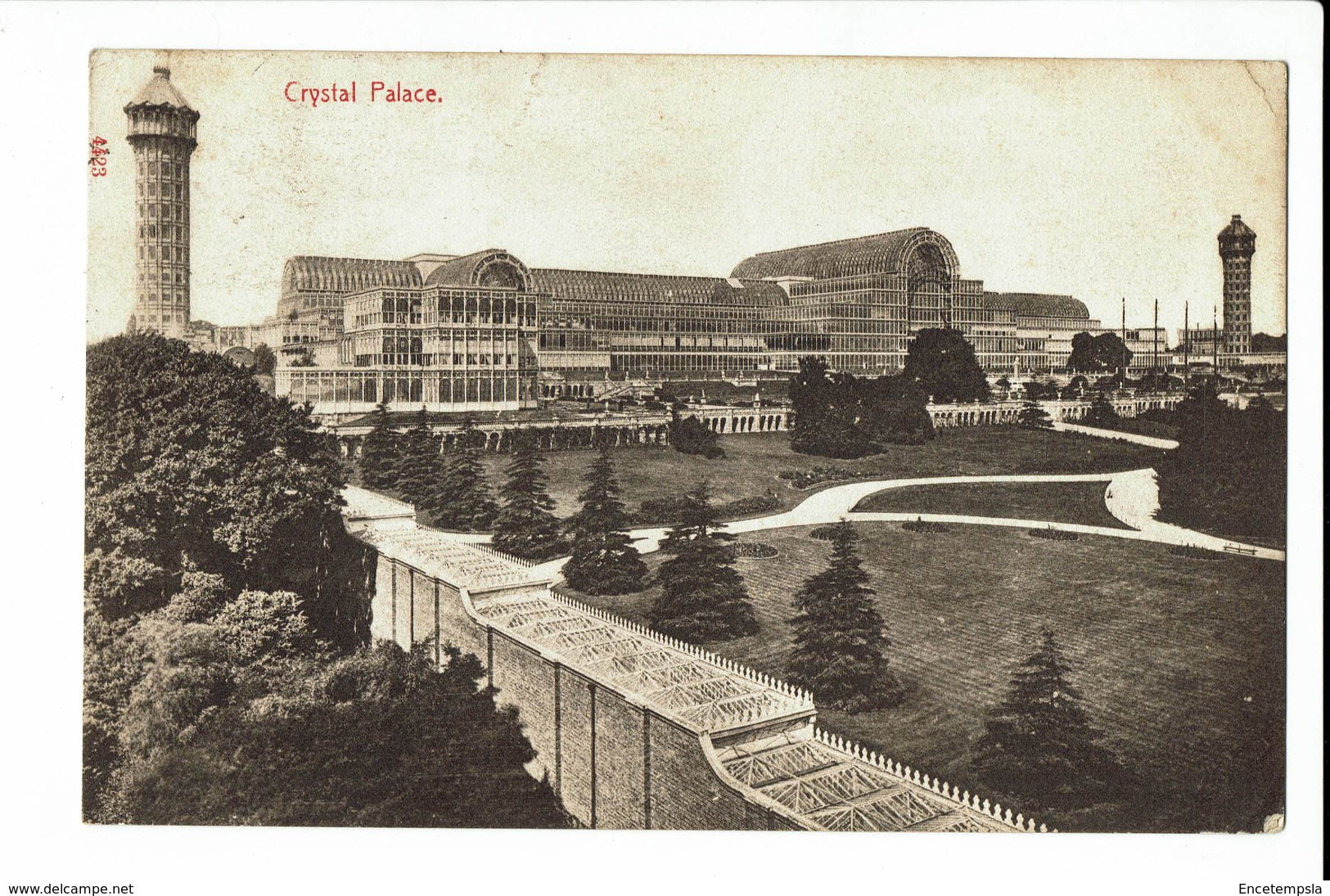 CPA - Carte Postale - Royaume Unis London  - Crystal Palace Hyde Park- 1908  S1043 - Other