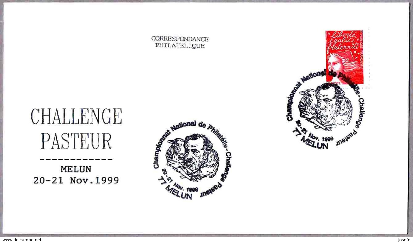 CHALLENGE LOUIS PASTEUR. Melun 1999 - Química