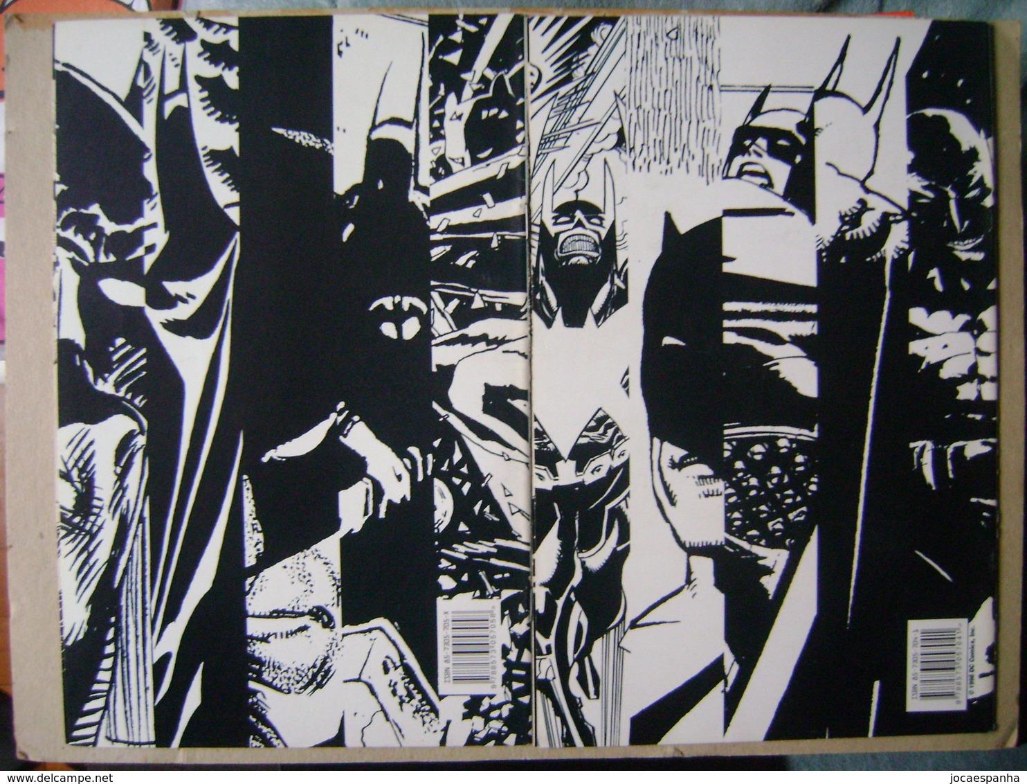 BATMAN BLACK AND WHITE (BRAZIL) - QUINZENAL MINI-SERIES IN 4 EDITIONS, EDITORA APRIL JOVEM - Books, Magazines, Comics