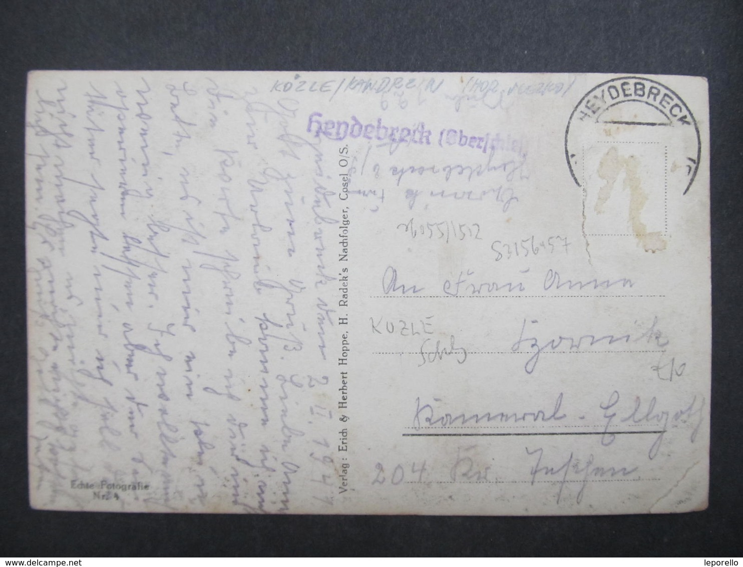 AK COSEL Kozle 1941 Krankenhaus   //  D*33278 - Schlesien