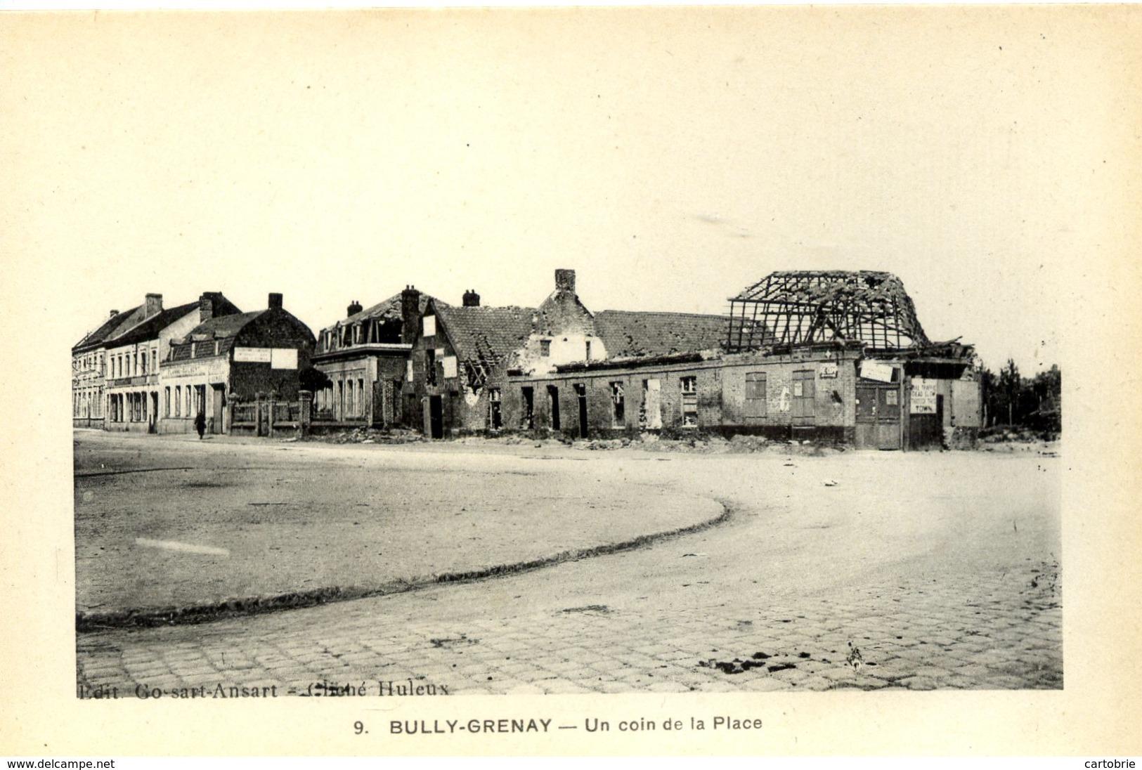 62 BULLY-GRENAY - Un Coin De La Place - Autres Communes