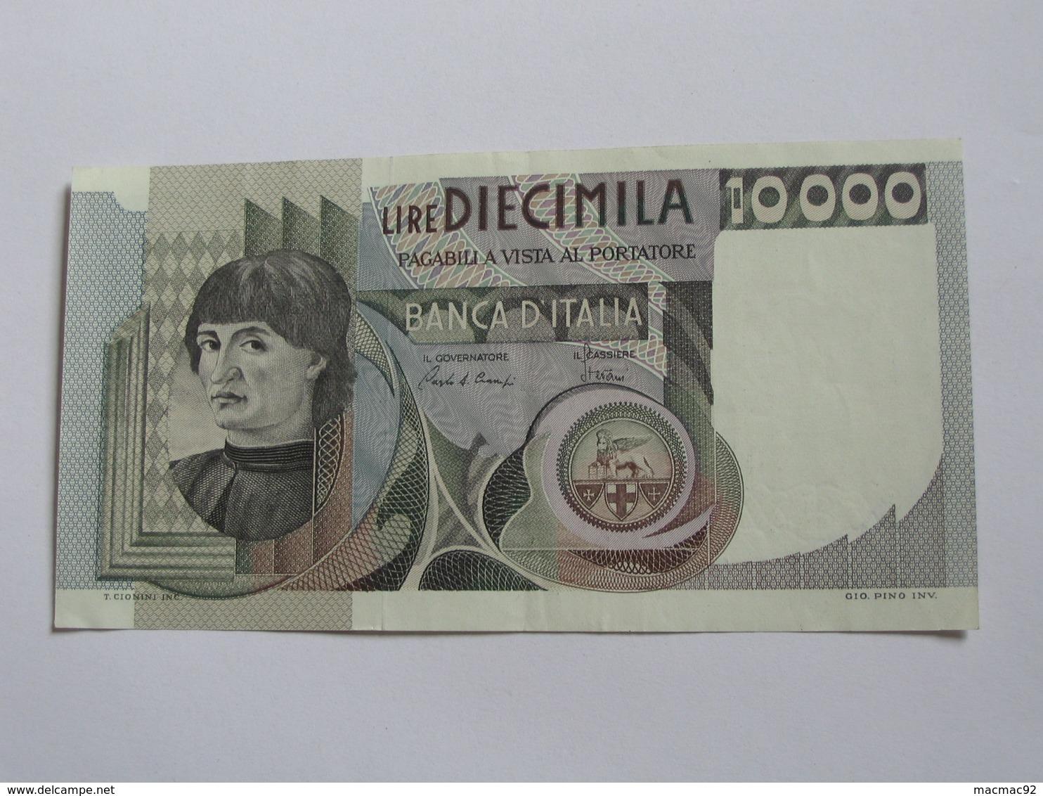 10 000 LIRE - Diecimila - ITALIE  - Banca D'Italia 1976-1984   **** EN ACHAT IMMEDIAT **** - [ 2] 1946-… : République