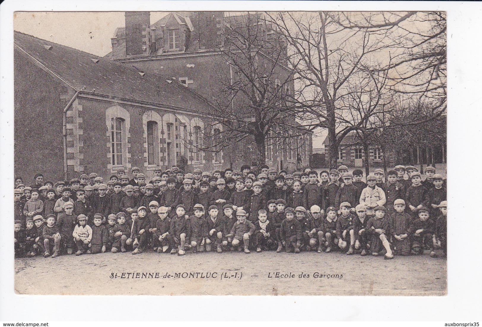SAINT ETIENNE DE MONTLUC - L'ECOLE DES GARCONS - 44 - Saint Etienne De Montluc