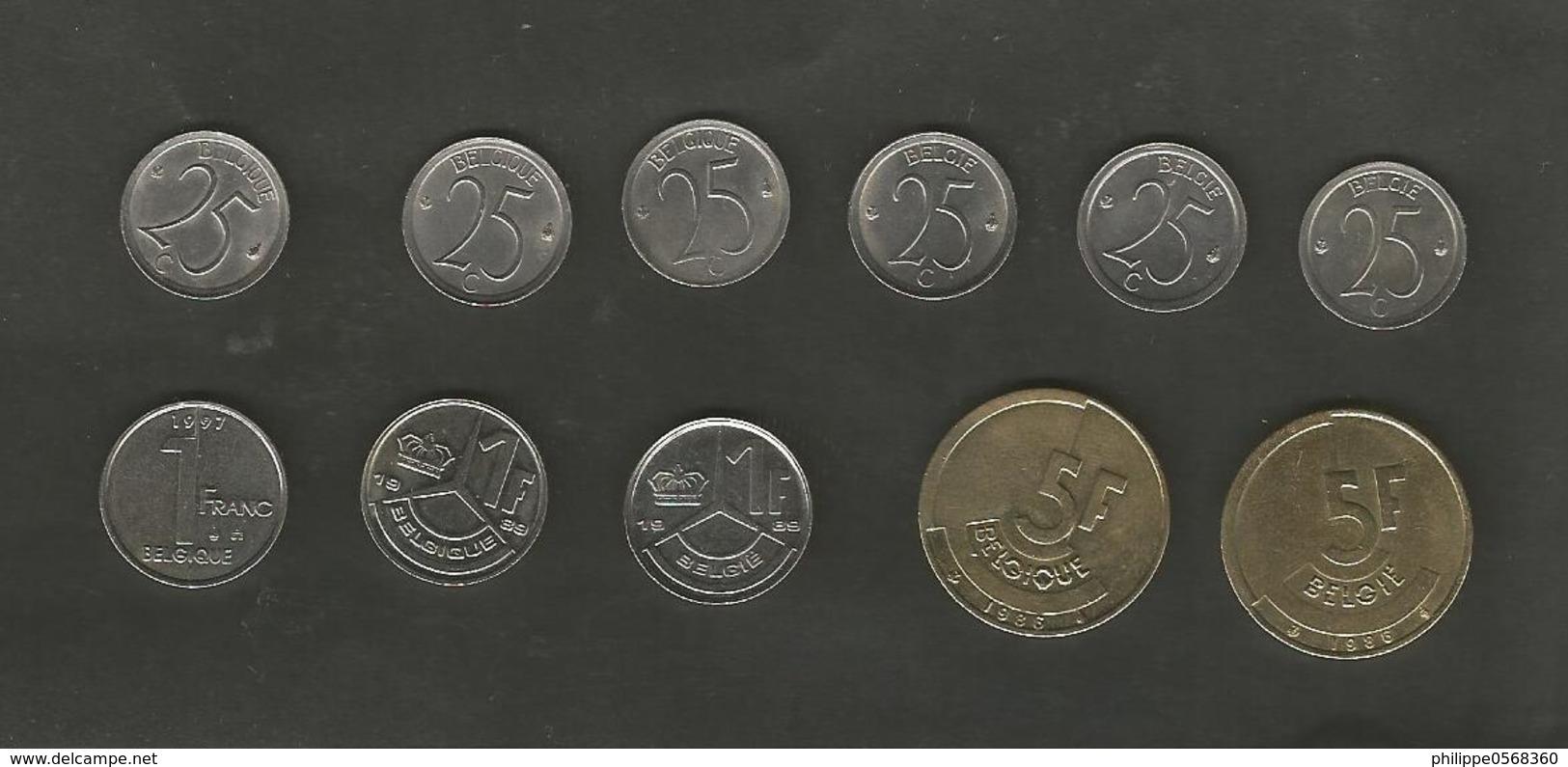 Lot De Monnaies  Diverses Belgique - Belgique