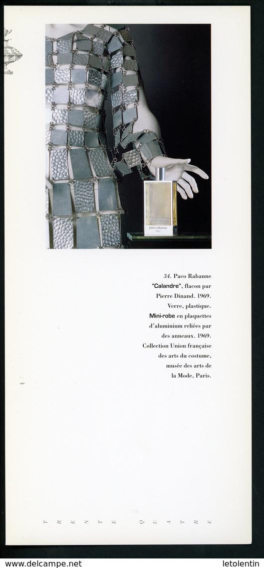 "CARTE PUB 12,5 X 27,5  - ""CALANDRE"" DE PACO RABANNE - Perfume & Beauty"