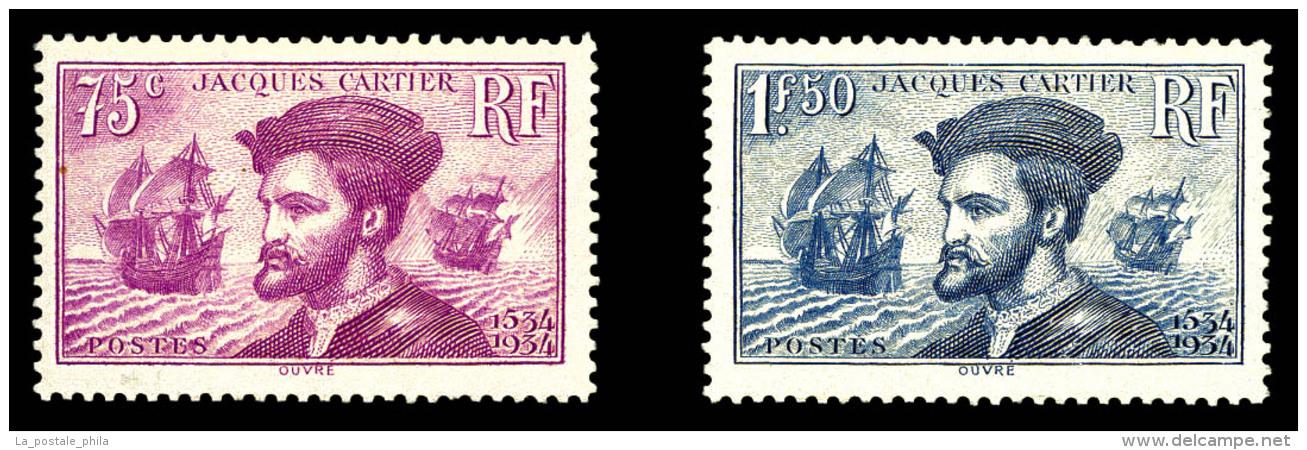 N°296/97, Paire Cartier, TB  Qualité: **  Cote: 300 Euros - Francia