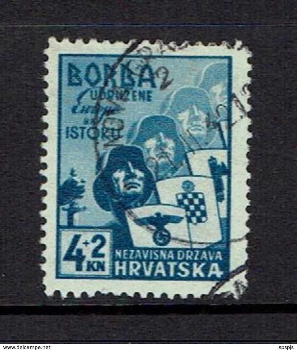 CROATIA...1940'S.used - Croatie