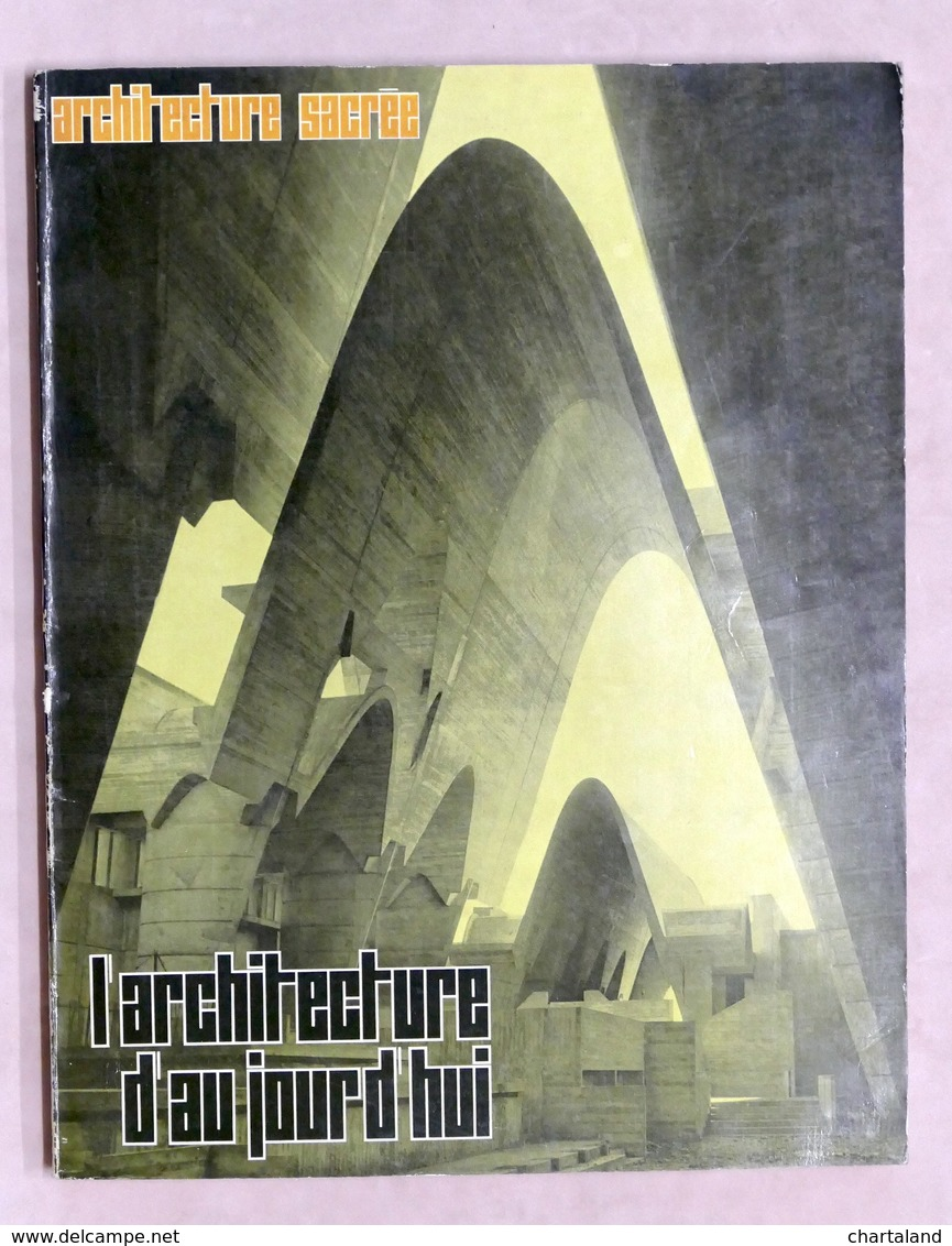Architettura - L' Architecture D'aujourd'hui N° 125 - 1966 - Architecture Sacrée - Libri, Riviste, Fumetti