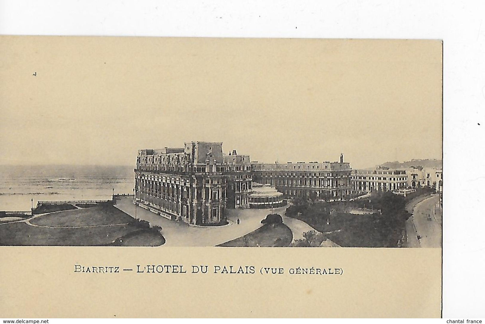 3 CP Dont 2 Cpa : Biarritz : Hôtel Du Palais, Vues Diverses - Biarritz