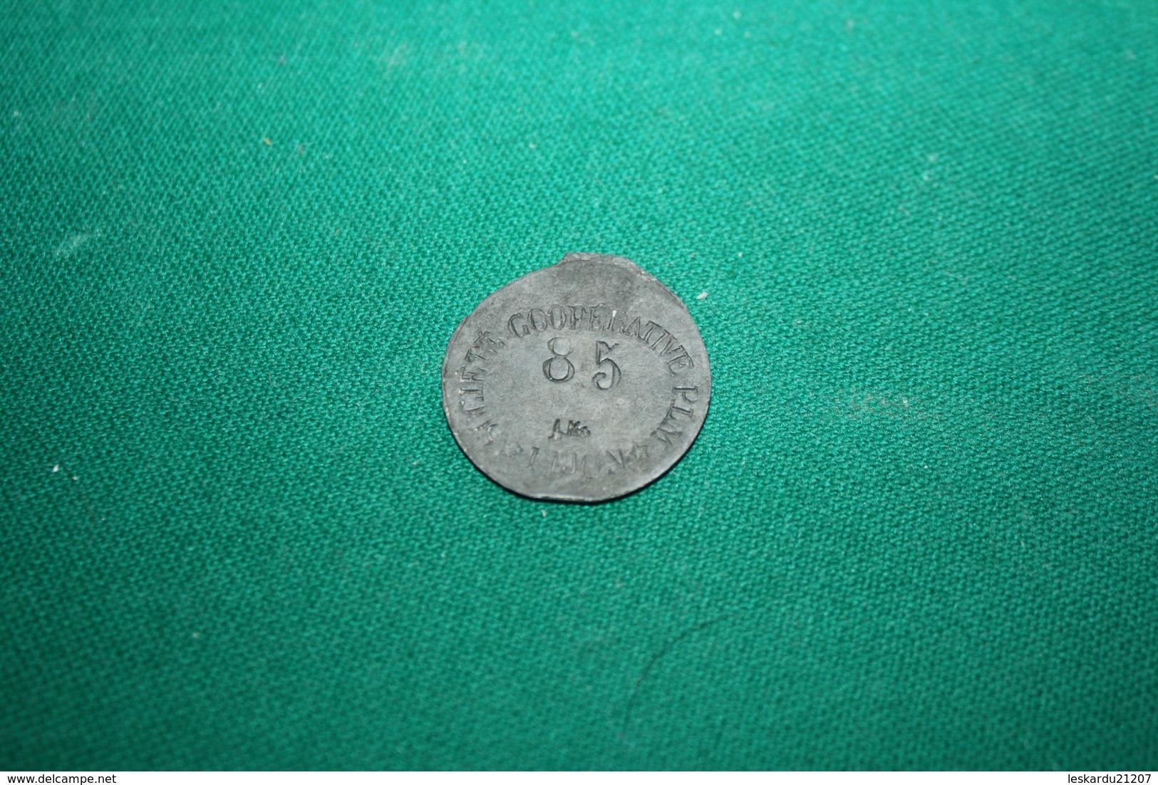 COOPERATIVE DE LA SOCIETE P. L. M. - DIJON - 1 KG - Numero 85 - COTE D'OR - Monétaires / De Nécessité