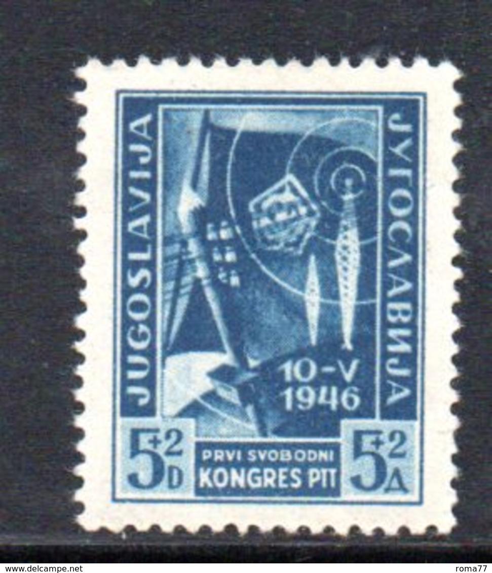 YUG61C - YUGOSLAVIA 1946,  Unificato N. 447  NUOVO  *** - Nuovi