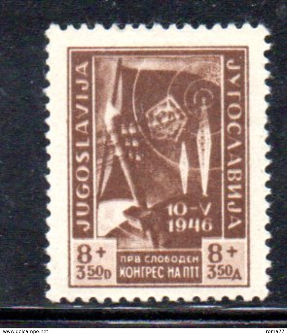 YUG61D - YUGOSLAVIA 1946,  Unificato N. 448  NUOVO  *** - Nuovi