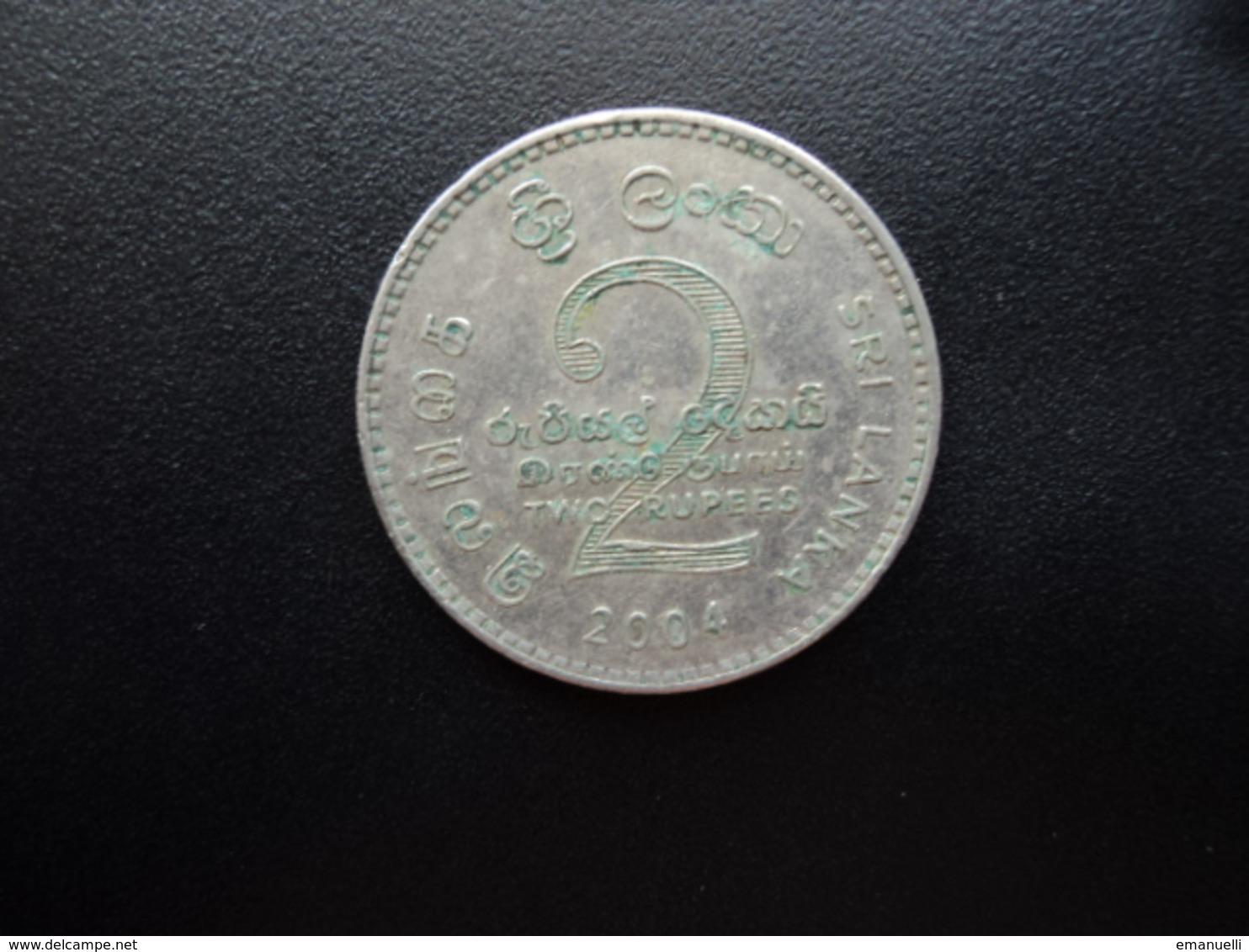 SRI LANKA : 2 RUPEES   2004  KM 147    SUP * - Sri Lanka