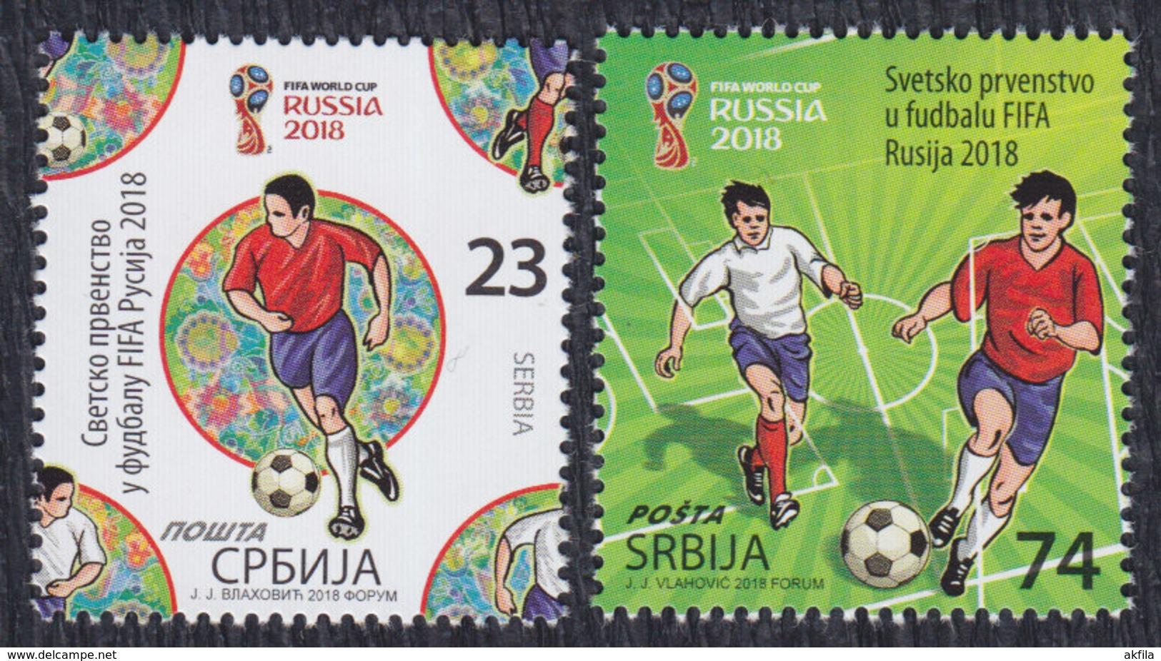 Serbia 2018 FIFA Football World Cup In Russia, MNH (**) - Serbia