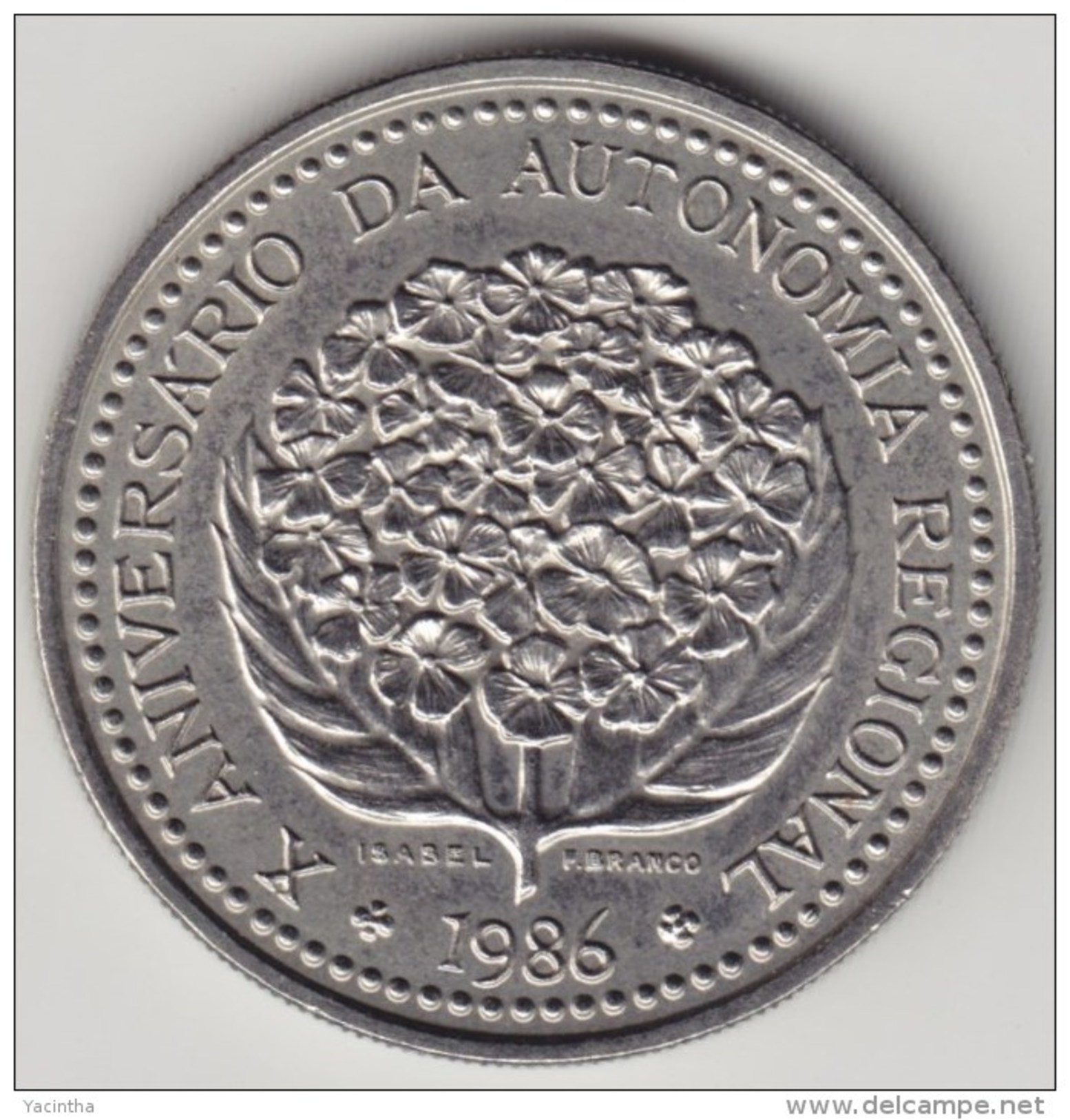 @Y@    Azoren   100 Escudos  1986   (4067) - Açores