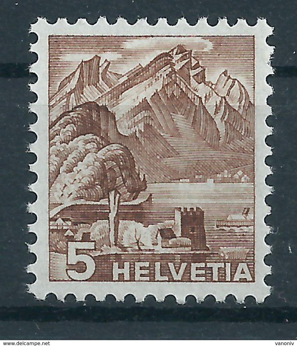 Schweiz 500 ** Rollenmarke Mit Nummer - Suiza