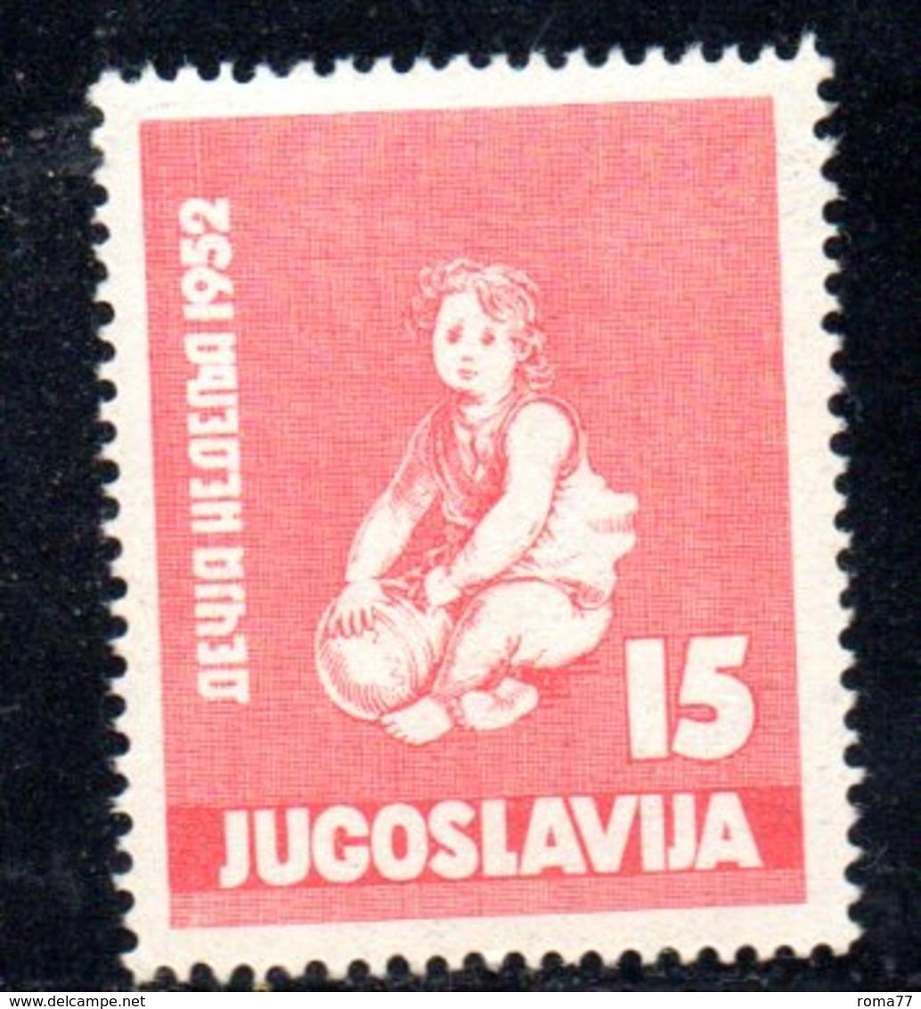 YUG74A - YUGOSLAVIA 1952,  Unificato N. 610  Nuovi  *** - 1945-1992 Repubblica Socialista Federale Di Jugoslavia