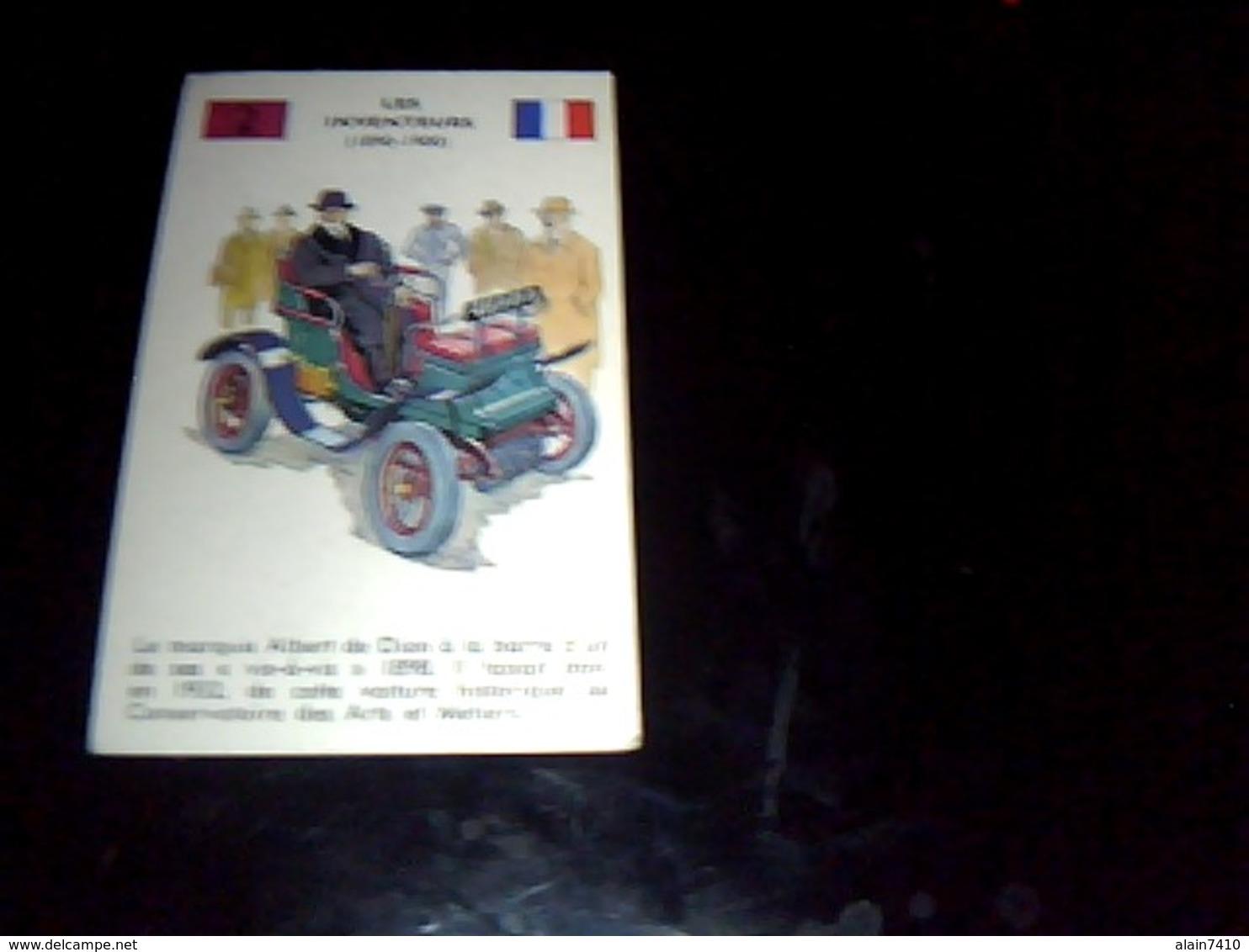 Image  De 1962 Publicité Clement La Fine Fleur Theme  Les Inventeurs Le Marquis De Dion - Autres