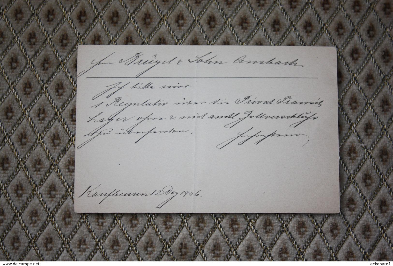 ( 444 )  Ganzsache P 66 / 05 Adressiert -  Siehe Beschreibung - Bavaria