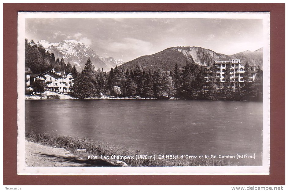 Valais / Wallis - LAC CHAMPEX - Grand Hôtel D'Orny Et Grand Combin - VS Valais
