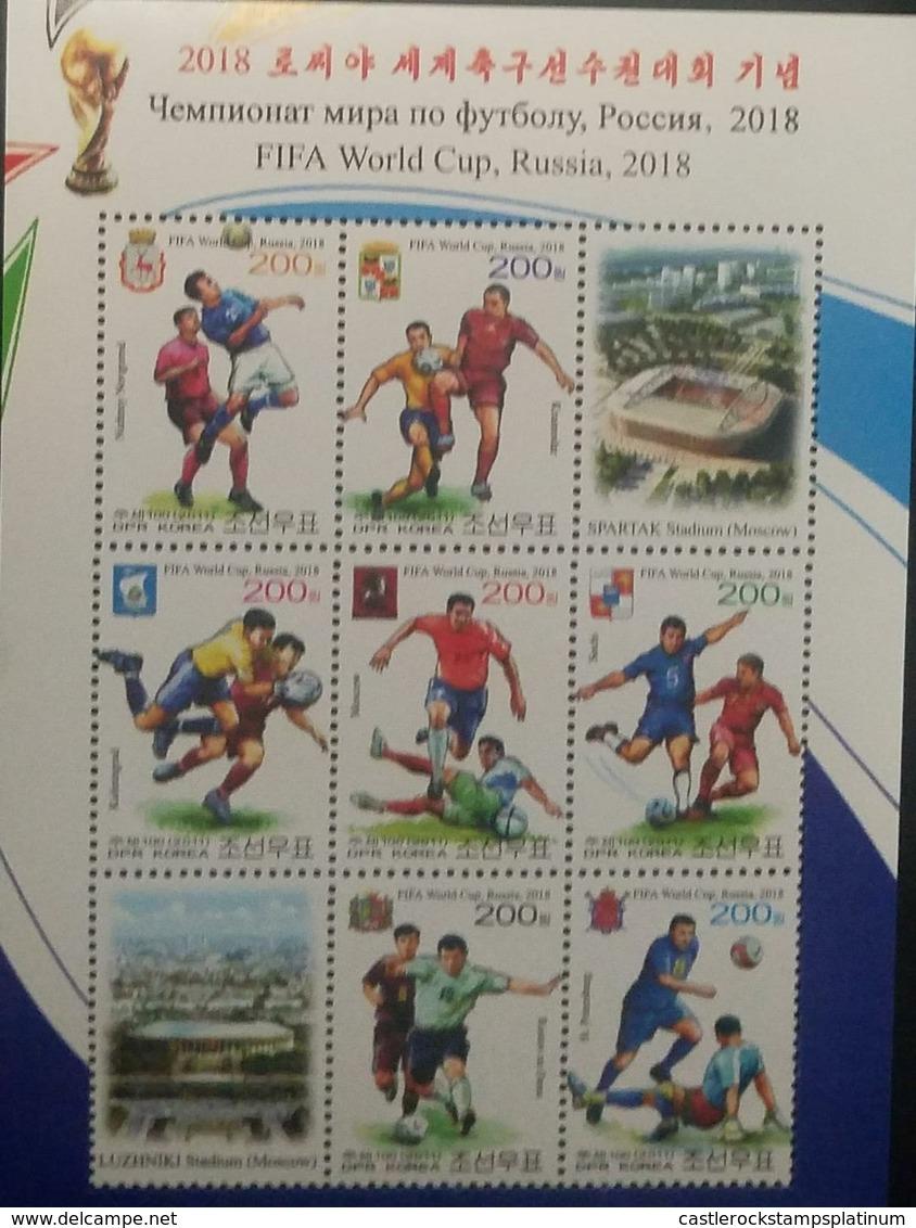 RO) 2018 KOREA, FIFA WORLD CUP RUSSIA 2018 - SOCCER WORLD CUP - FOOTBALL - WORLD - Korea (...-1945)