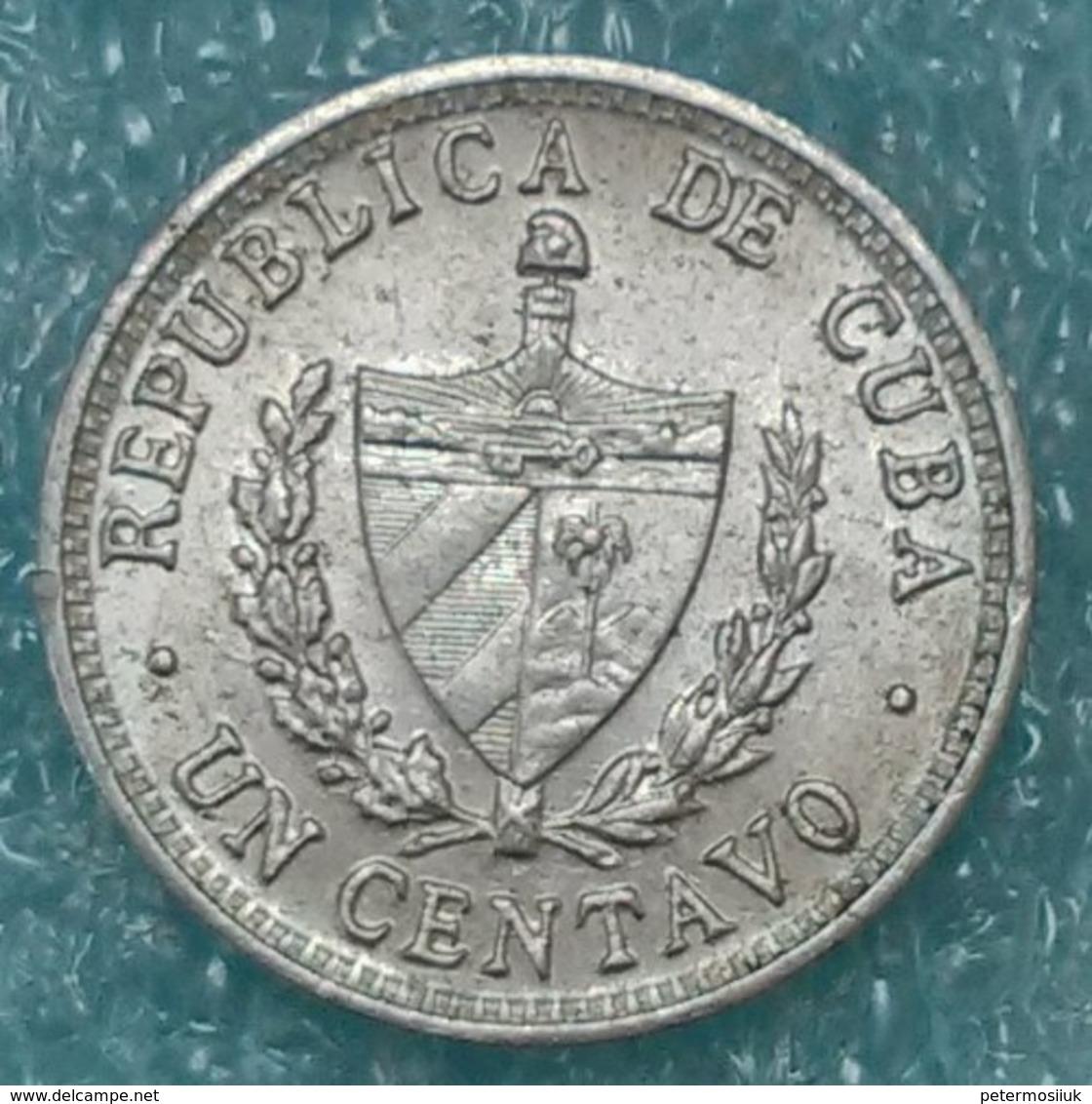 Cuba 1 Centavo, 1969 -1655 - Cuba