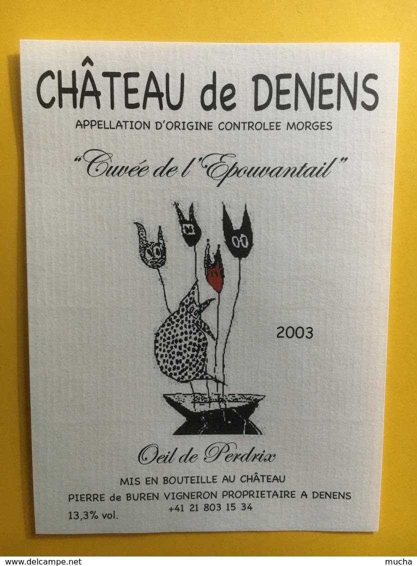 8545 - Château De Denens Cuvée De L'Epouvantail 2003 Oeil De Perdrix Suisse - Autres