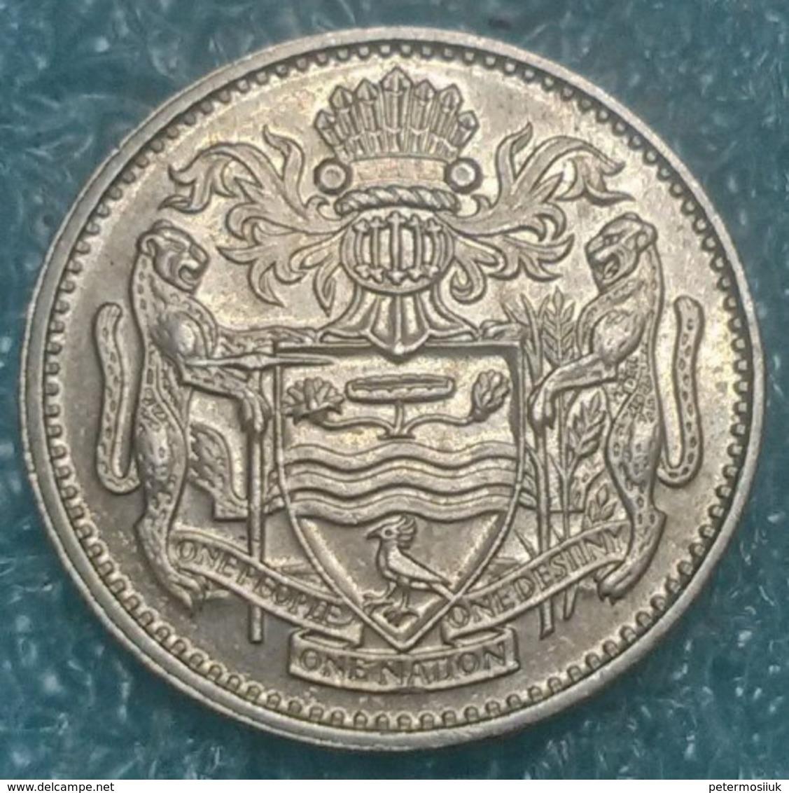 Guyana 25 Cents, 1986 -4113 - Guyana
