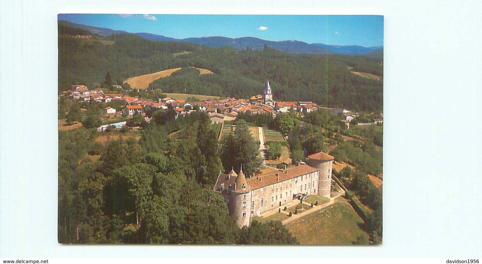 Vollore  Ville -   Château De Comte De Puzy Lafayette   M251 - Autres Communes