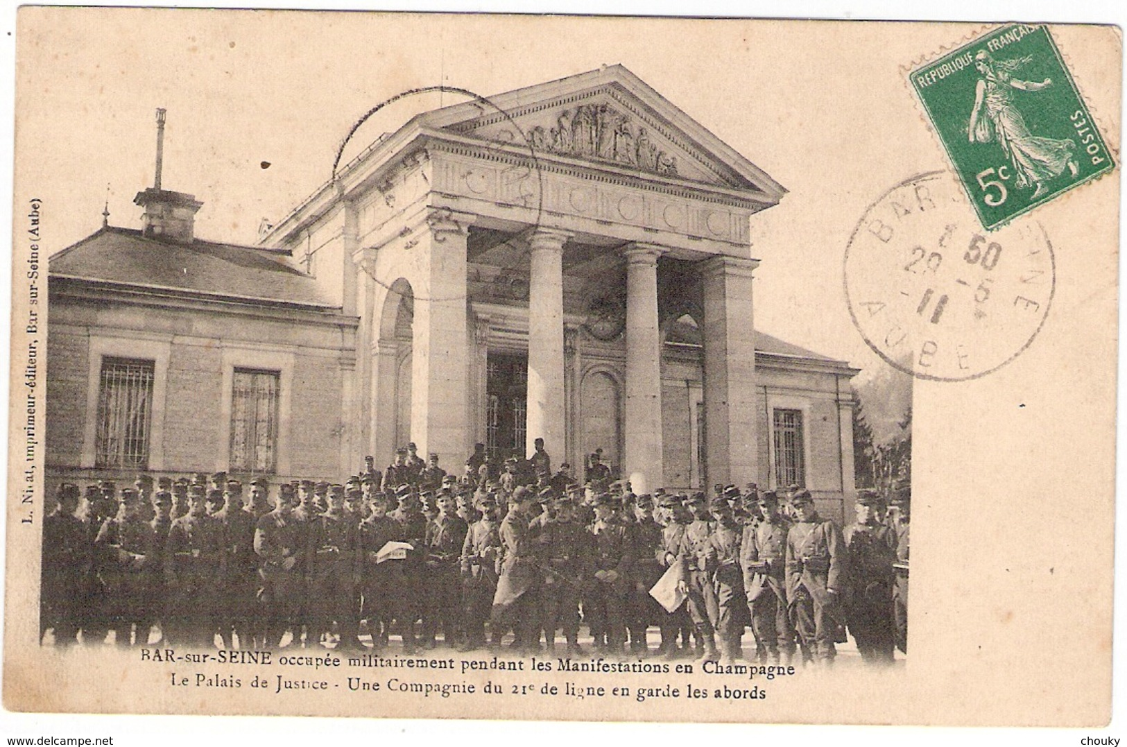 Bar-sur-Seine (1911) - Bar-sur-Seine