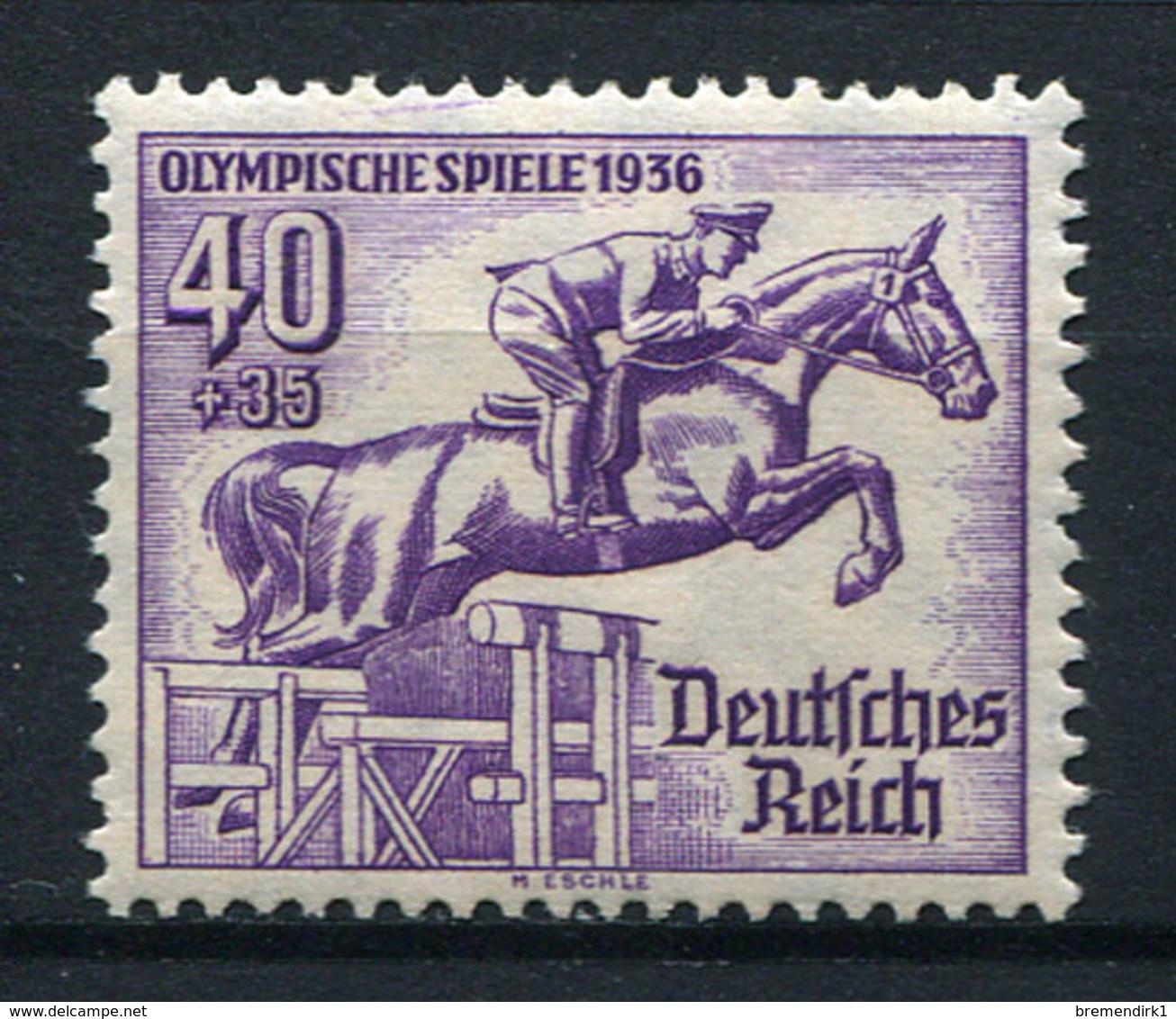 41685) DEUTSCHES REICH # 616 Postfrisch Aus 1936, 45.- € - Germany
