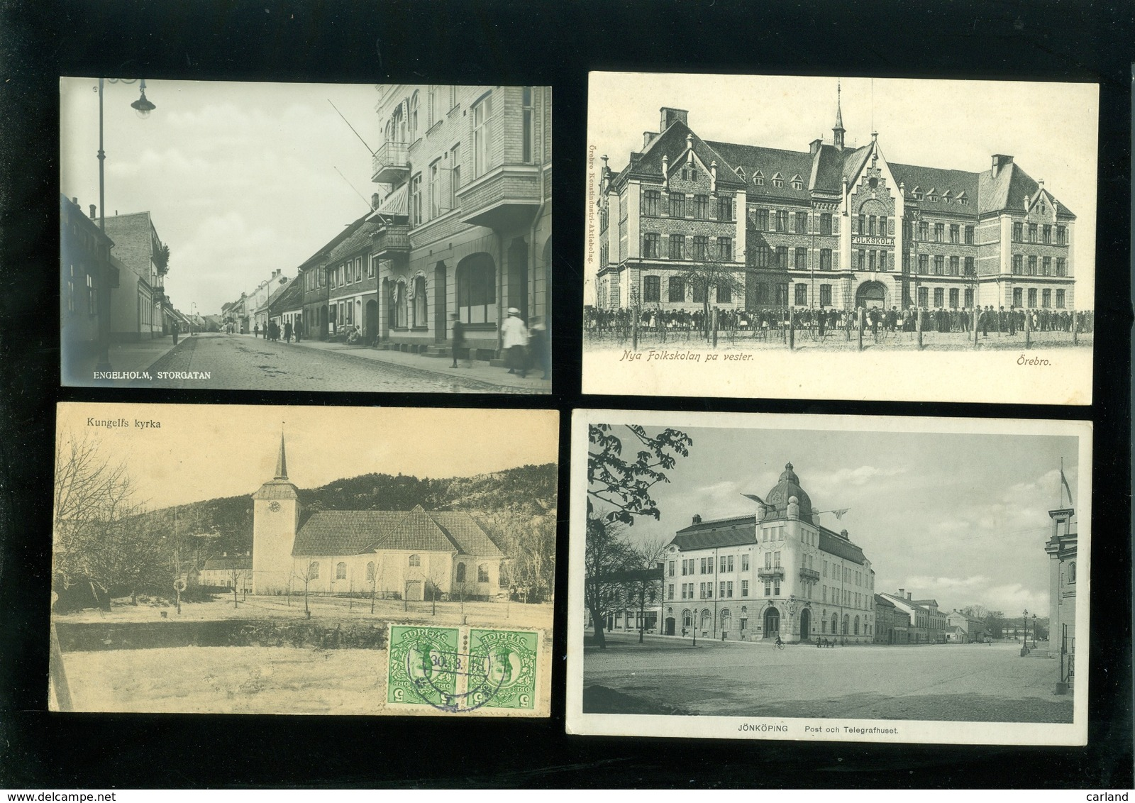 Beau Lot De 50 Cartes Postales De Suède      Mooi Lot Van 50 Postkaarten Van Zweden  -  50 Scans - Cartes Postales